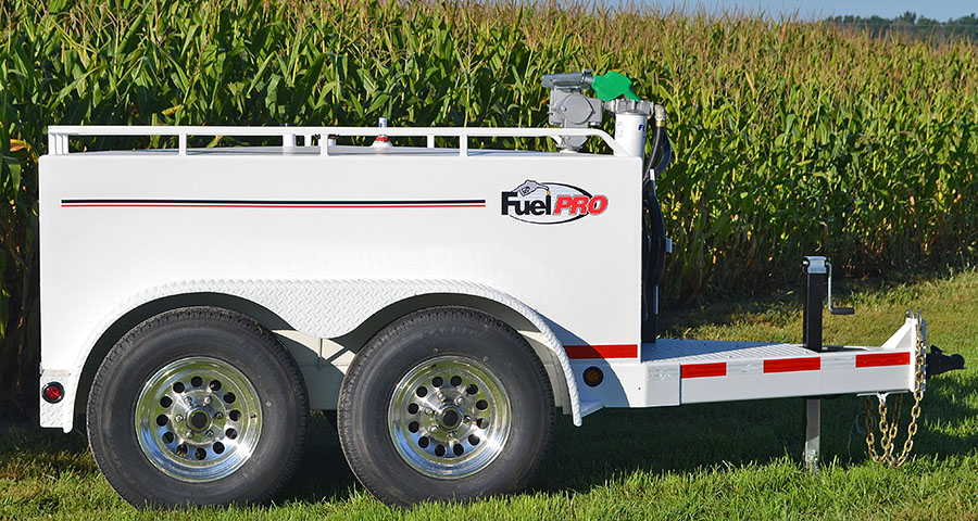 Fuel trailer design