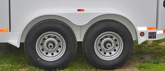 Fuel Trailer wheels